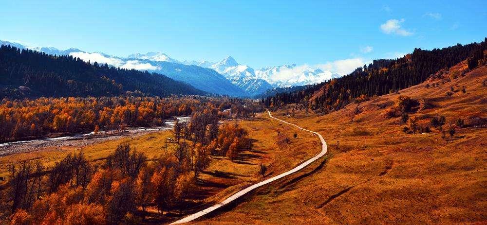 伊犁哈萨克自治州地处祖国西北边陲,成立于1954年,辖塔城、阿勒泰两个地区和10个直属县市,是全国唯一的既辖地区、又辖县市的自治州。西部紧邻欧亚国家哈萨克斯坦,这里有中国陆路最大的通商口岸(霍尔果斯口岸)。全州总面积35万平方公里,因雨量较充沛被称为中亚湿岛或塞外江南。人口500多万人,有哈萨克、汉、维吾尔、回、蒙古、锡伯等47个民族成份,其中哈萨克族占25.